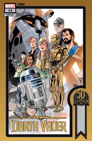 Star Wars: Darth Vader #14 (Sprouse Lucasfilm 50th Anniversary Cover)