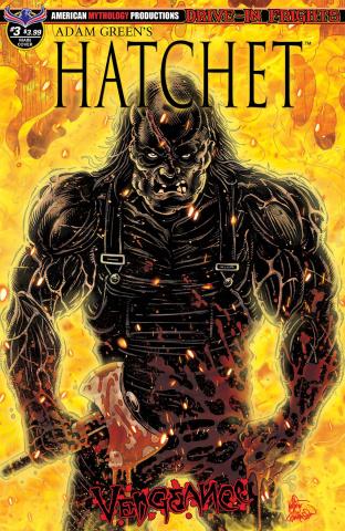 Hatchet: Vengeance #3 (Buz & Haeser Cover)