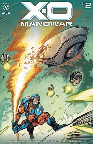 X-O Manowar #2 (25 Copy Johnson Cover)