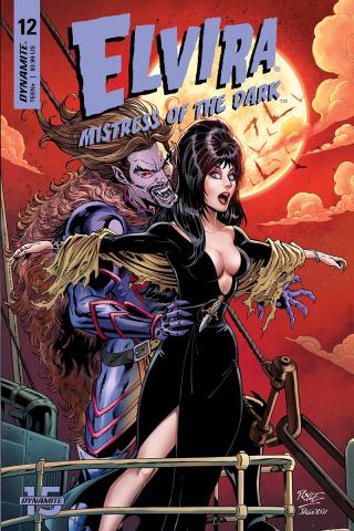 Elvira: Mistress of the Dark #12 (Royle Cover)