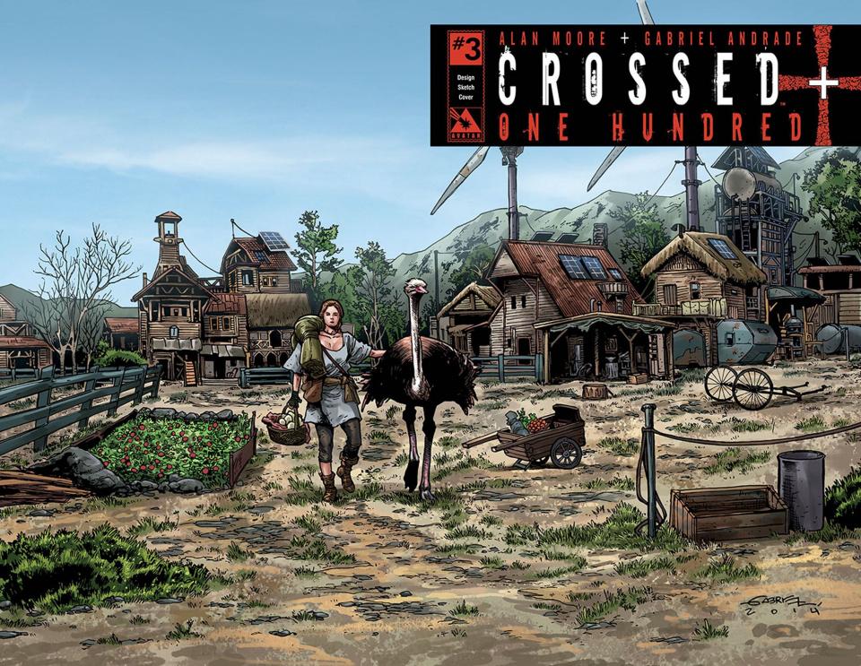 Crossed + One Hundred #3 (Design Sketch Cover)