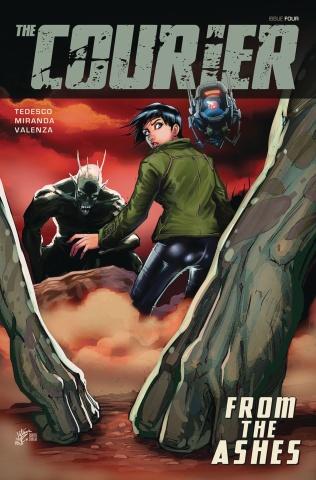 The Courier #4 (Miranda Cover)