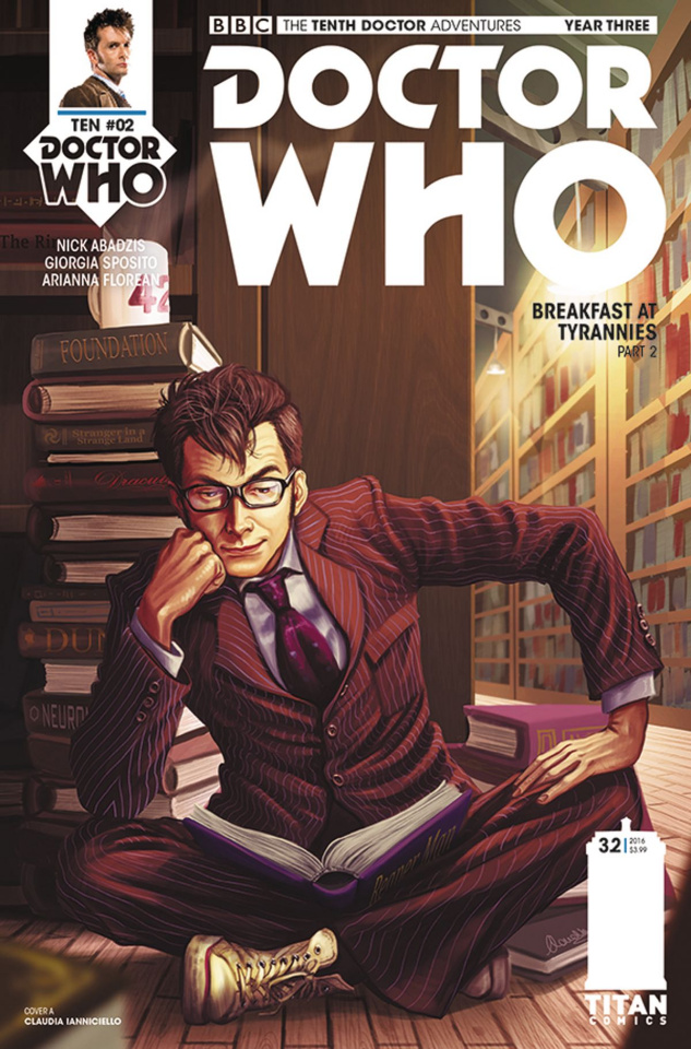 Doctor Who: New Adventures with the Tenth Doctor, Year Three #2 (Ianniciello Cover)