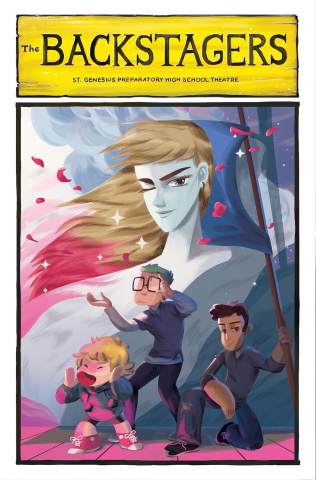 The Backstagers #4 (15 Copy Eskelinen Cover)