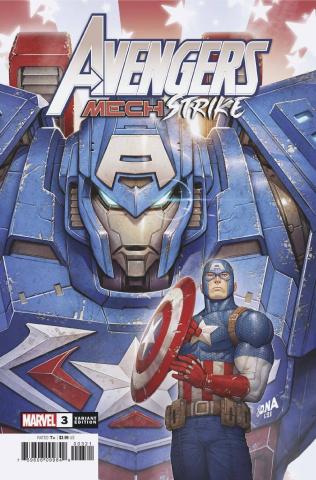 Avengers: Mech Strike #3 (Nakayama Cover)