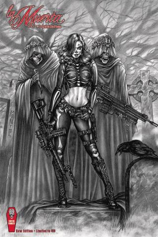 La Muerta: Retailiation (Monte Moore Raw Cover)