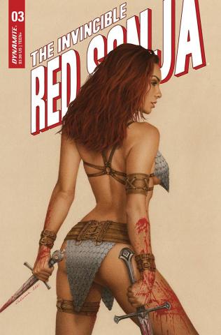 The Invincible Red Sonja #3 (Celina Cover)