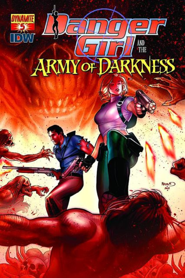 Danger Girl and the Army of Darkness #5