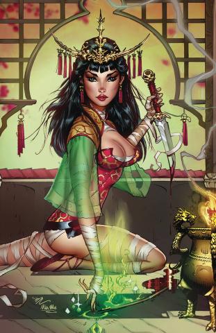 Van Helsing vs. The League of Monsters #5 (Dooney Cover)