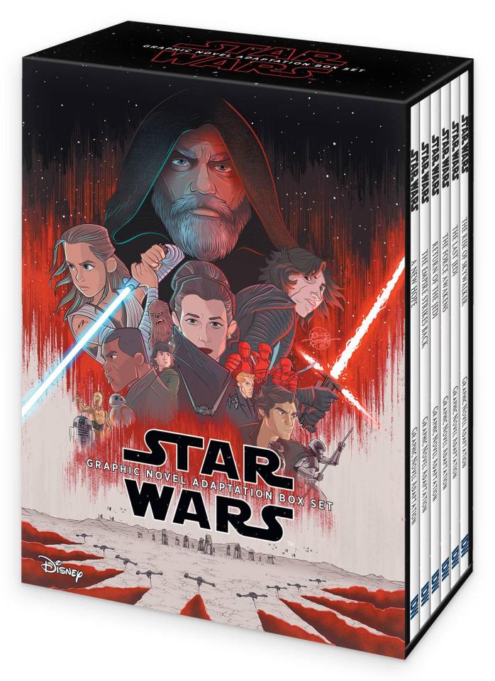 Star Wars Episodes 4-9 Adaptation (Box Set)