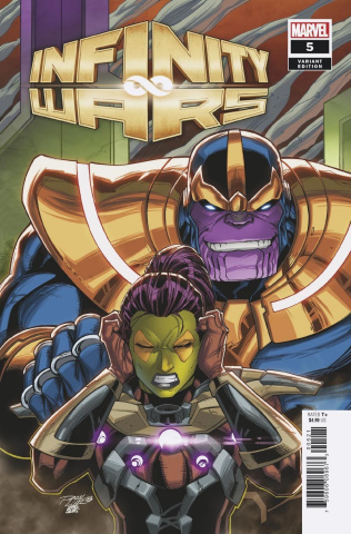 Infinity Wars #5 (Lim Cover)