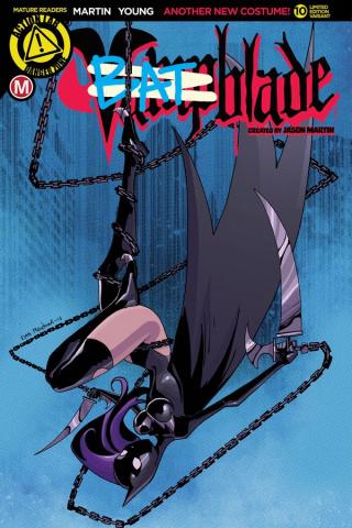 Vampblade #10 (Batblade Cover)