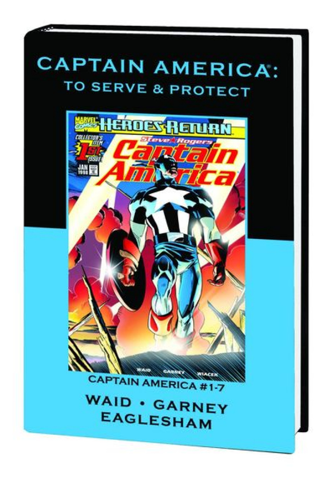 Captain America: To Serve & Protect