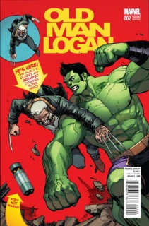 Old Man Logan #2 (Camuncoli Cover)