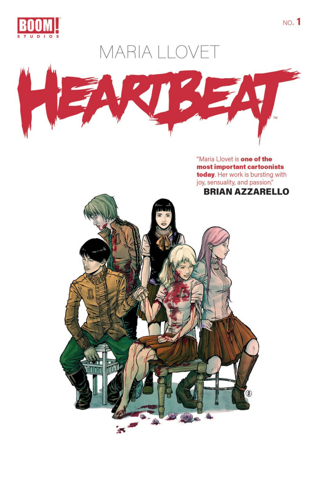 Heartbeat #1 (Llovet Cover)