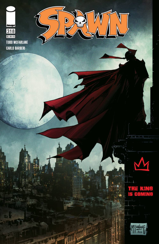Spawn #318 (McFDarlane Cover)