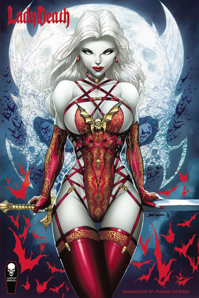 Lady Death: Scorched Earth #2 (Tyndall Premium Foil Cover)