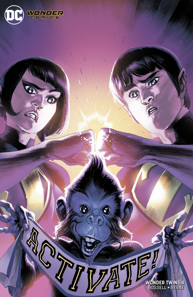 Wonder Twins #4 (Variant Cover)