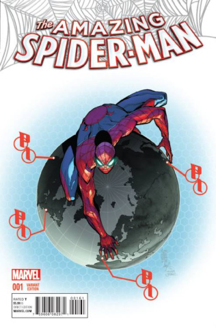 The Amazing Spider-Man #1 (Camuncoli Cover)