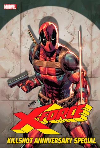 X-Force Killshot Anniversary Special #1 (Connecting B Cover)