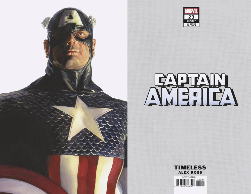 Captain America #23 (Alex Ross Captain America Timeless Cover)