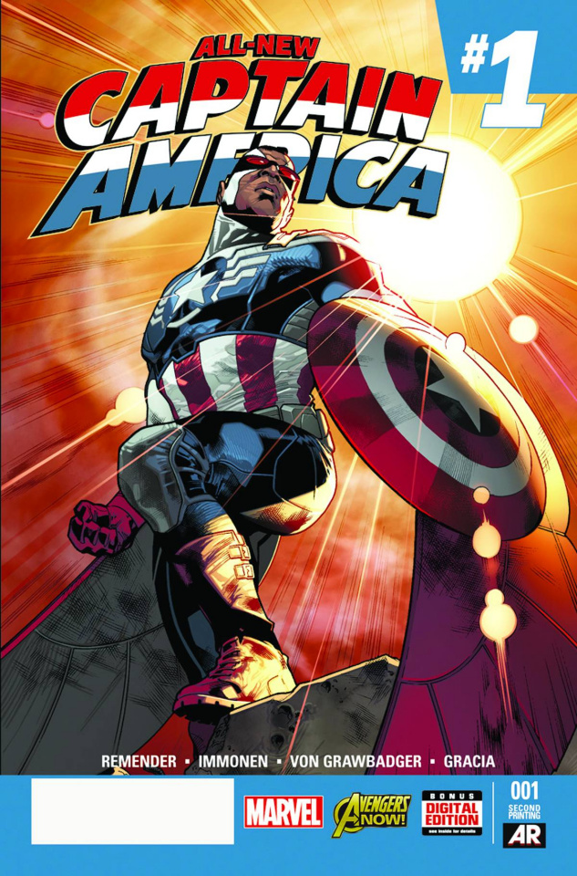 All-New Captain America #1 (2nd Printing)