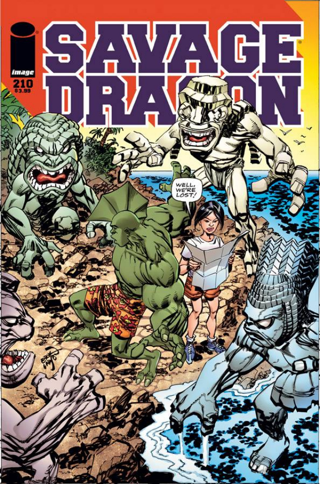 Savage Dragon #210