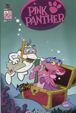 The Pink Panther #1 (Signed Ropp Cover)