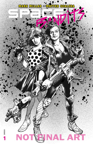 Space Bandits #1 (Charest Cover)