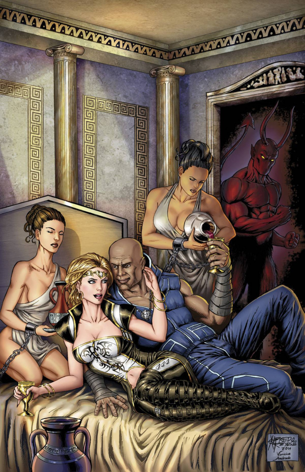 Grimm Fairy Tales: Realm War #5 (Reyes Cover)