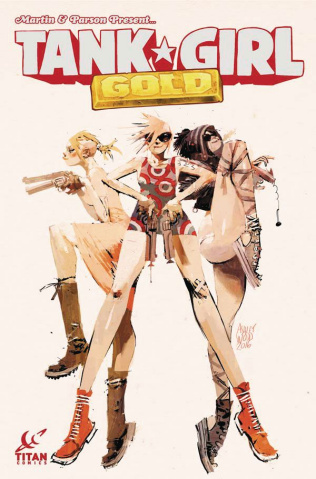 Tank Girl: Gold #1 (Wood Cover)