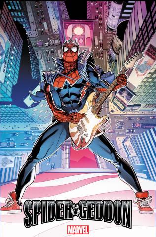 Spider-Geddon #1 (Sliney Spider-Punk Cover)