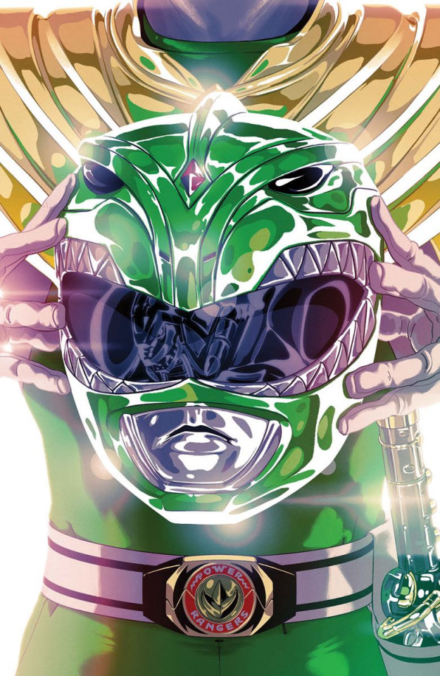 Mighty Morphin' Power Rangers #49 (Foil Montes Cover)