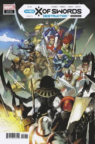 X of Swords: Destruction #1 (Yu Cover)