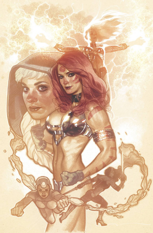 Sirens #1 (NYCC Cover)