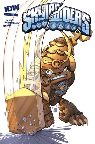 Skylanders #8 (Subscription Cover)