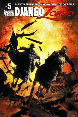 Django / Zorro #5 (Lee Cover)