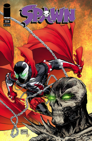 Spawn #304 (Virgin Mattina Cover)