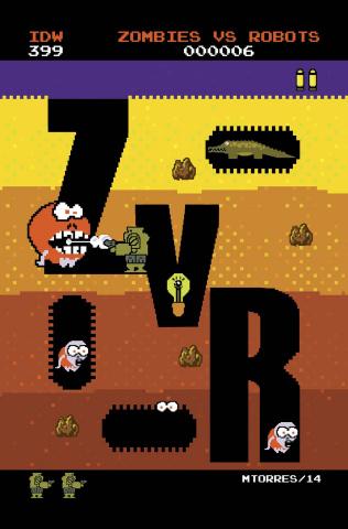 Zombies vs. Robots #6