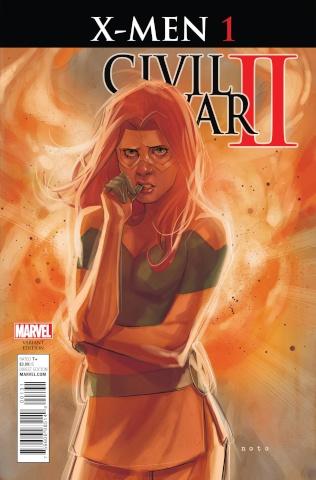 Civil War II: X-Men #1 (Noto Character Cover)