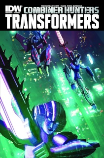 The Transformers: Combiner Hunters (Subscription Cover)