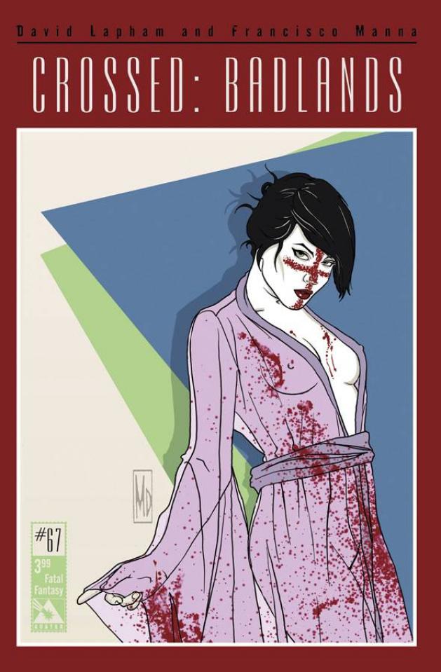 Crossed: Badlands #67 (Fatal Fantasy Cover)