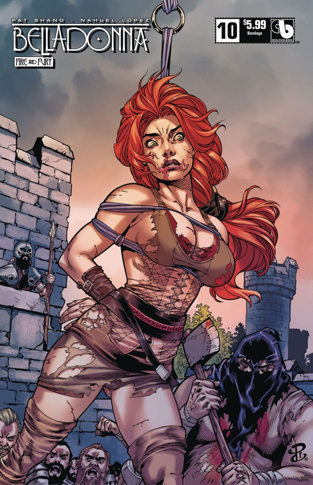 Belladonna: Fire and Fury #10 (Bondage Cover)