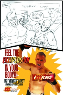 Deadpool #1 (Johnson Candy Sketch Cover)