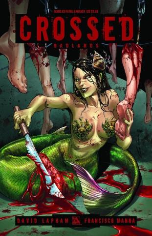 Crossed: Badlands #63 (Fatal Fantasy Cover)