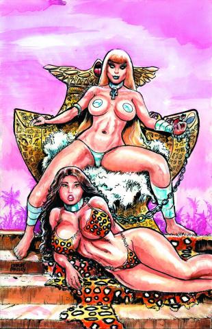 Cavewoman: Ankha's Revenge #3 (Massey Cover)