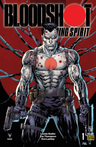 Bloodshot: Rising Spirit #1 (Pre-Order Bundle COver)