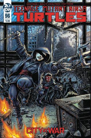 Teenage Mutant Ninja Turtles #96 (Eastman Cover)