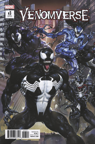 Venomverse #3 (Crain Connecting Cover)