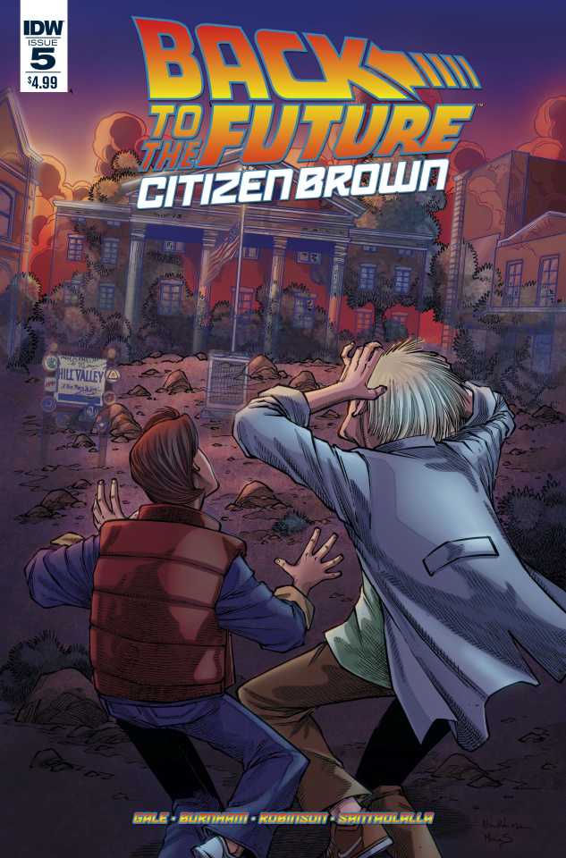 Back to the Future: Citizen Brown #5